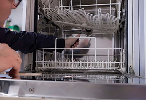 Dishwasher Repair: Top Notch Appliance Services fixes most brands of dishwashers in Prince William, Loudoun, Fairfax, Arlington, and Alexandria